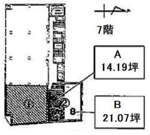 7F 間取り図