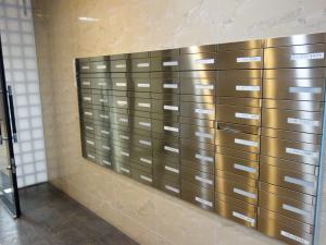 タマリスビル郵便ポスト