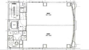 聖恵(ショウケイ)ビル基準階間取り図