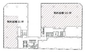 第三富士ビル3階間取り図