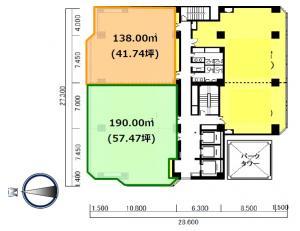 いちご西本町ビル5階間取り図
