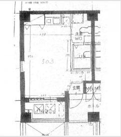 ローツェⅡ基準階間取り図