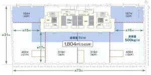 淀屋橋三井ビルディング(淀屋橋odona)間取り図