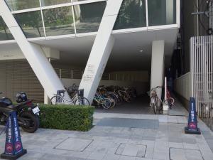 ORIX高麗橋ビル駐輪スペース
