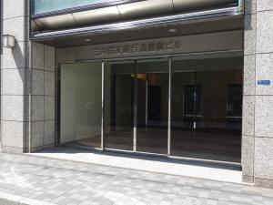 三井住友銀行高麗橋ビルエントランス