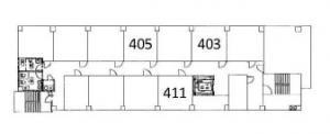 大晋第2ビル4階間取り図