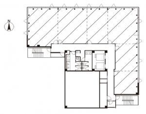 MF西天満ビル4階間取り図