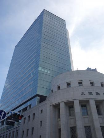 大阪証券取引所ビル 外観写真